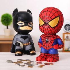 Catman caja de ahorro de dinero decoraci n del hogar Spiderman resina cajas de dinero juguete - Tienda Friki Online