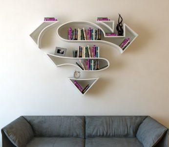 super man decoracion friki salon friki, cosas frikis para casa