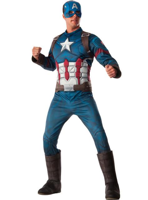 disfraces frikis hombre disfraz capitan america superheroe