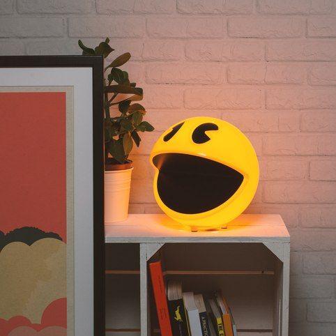 lamparas de pacman para decoracion friki salon friki, decoracion habitacion friki