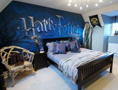 decoracion de habitaciones frikis modernas
