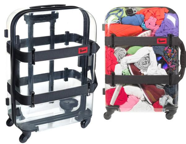 maleta transparente - Maletas de equipaje y Bolsos de Viaje
