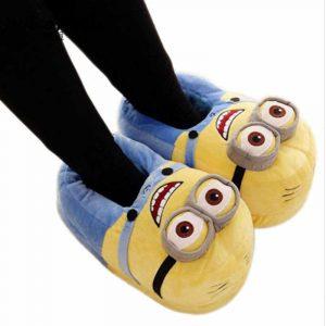 zapatillas de estar por casa para niños, zapatillas para niños divertidas y originales