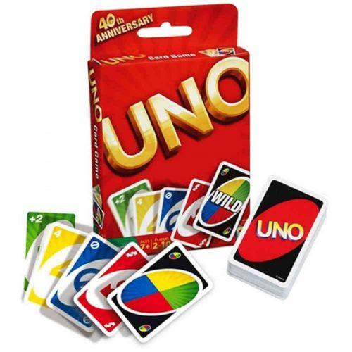 juegos de cartas uno geek nerd