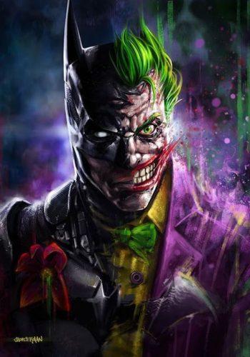 joker caricatura dibujos animados guason