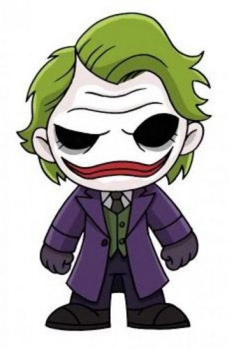 caricatura joker heath ledger