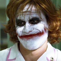 joker guason heath ledger caballero oscuro enfermera dark knight
