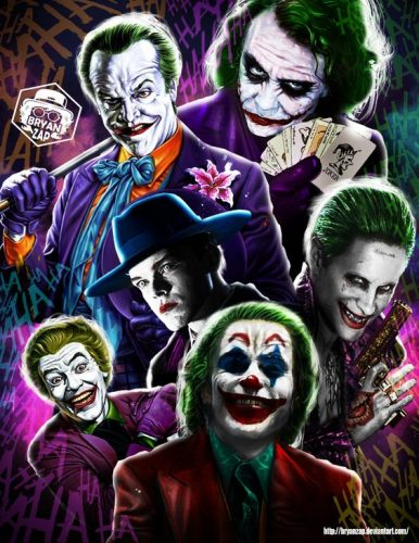 todos los jokers todos los guasones dc comics peliculas