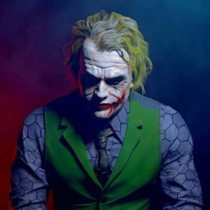 disfraz del joker guason joker heath ledger dark knight