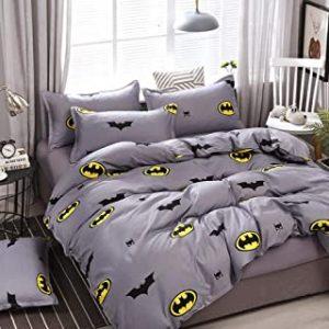 sabanas de Batman edredon de batman colcha de batman