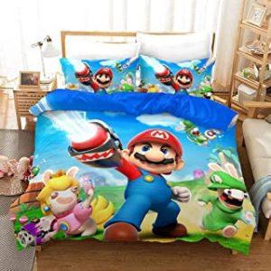 sabanas de Mario Bros edredones de super mario