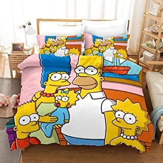 sábanas de los simpsons edredón de los simpsons colcha de los Simpsons, comprar juego de sábanas y fundas nórdicas de los simpsons para tu cama y habitación