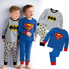 pijamas de supeheroes para niños o niñas adultos