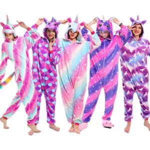 pijama unicornio niña, Pijamas de unicornio pijama de unicornio para niñas