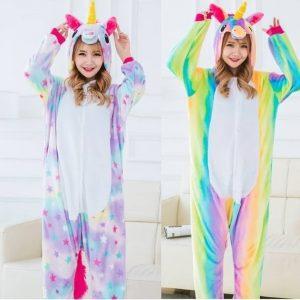 Pijamas de unicornio pijama de unicornio para niñas, pijamas unicornio