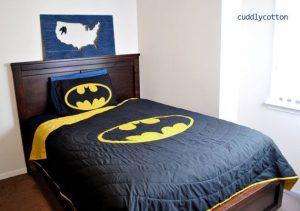 Edredon de Batman, sabana de batman, edredones batman