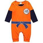 pijamas de dragon ball para bebe