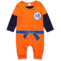 pijamas de dragon ball para bebe