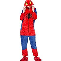 Pijamas de Spiderman pijamas del hombre araña, pijamas spiderman mujer