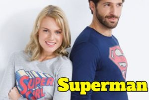 pijamas superhéroes de superman