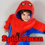 comprar pijamas spiderman online, pijamas spiderman para niño, hombre, mujer y bebés