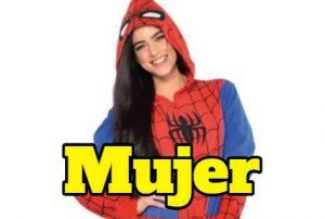 Comprar pijamas spiderman para mujer o niña