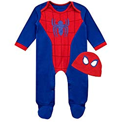 Pijamas de Spiderman de bebe