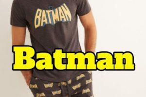 Pijamas superheroes batman