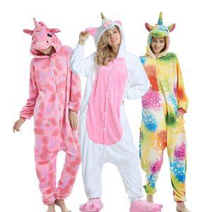 Pijamas de unicornio pijama de unicornio para niñas