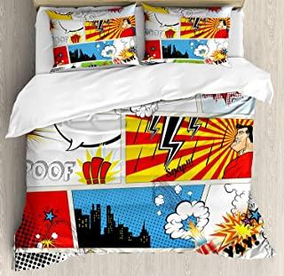 ropa de cama superheroes, ropa de cama marvel, juego de sabanas marvel