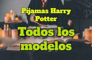 Todos los modelos de Pijama Harry Potter