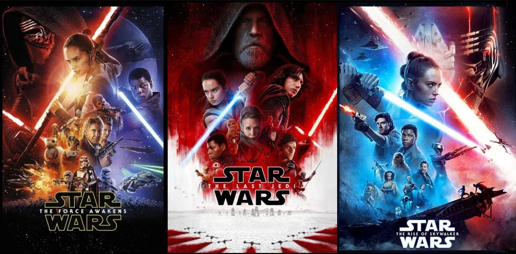 Star Wars Era de la Resistencia Posters secuelas orden correcto star wars