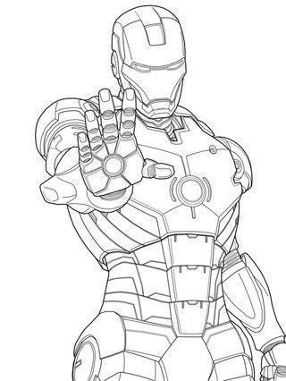 imagenes de ironman para colorear iron man para pintar pintura de iron man