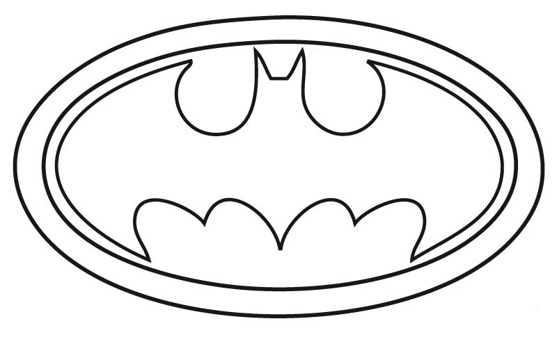 dibujos de batman para colorear y pintar