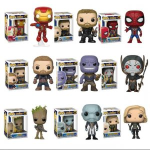 figuras funko pop de marvel superheroes