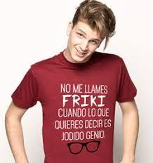 camisetas no me llames friki camisetas con frase no me llames friki