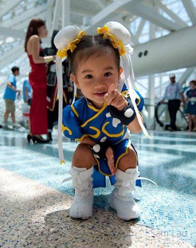 disfraz niña chun li - Disfraces Frikis para el Carnaval y el día del orgullo friki