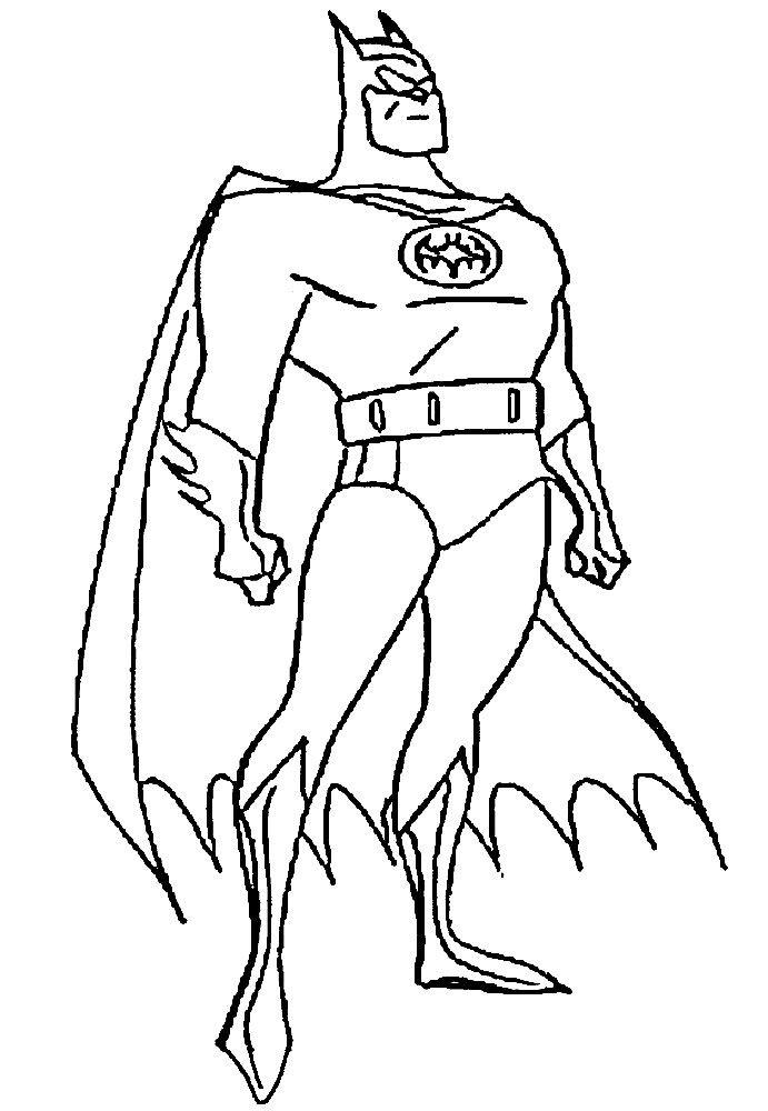 Dibujos de superheroes para colorear
