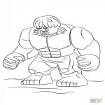 imagenes de hulk para pintar dibujos de hulk para colorear