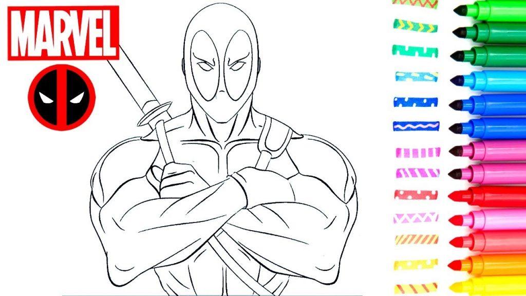 maxresdefault 1 1024x576 - Superhéroes para colorear