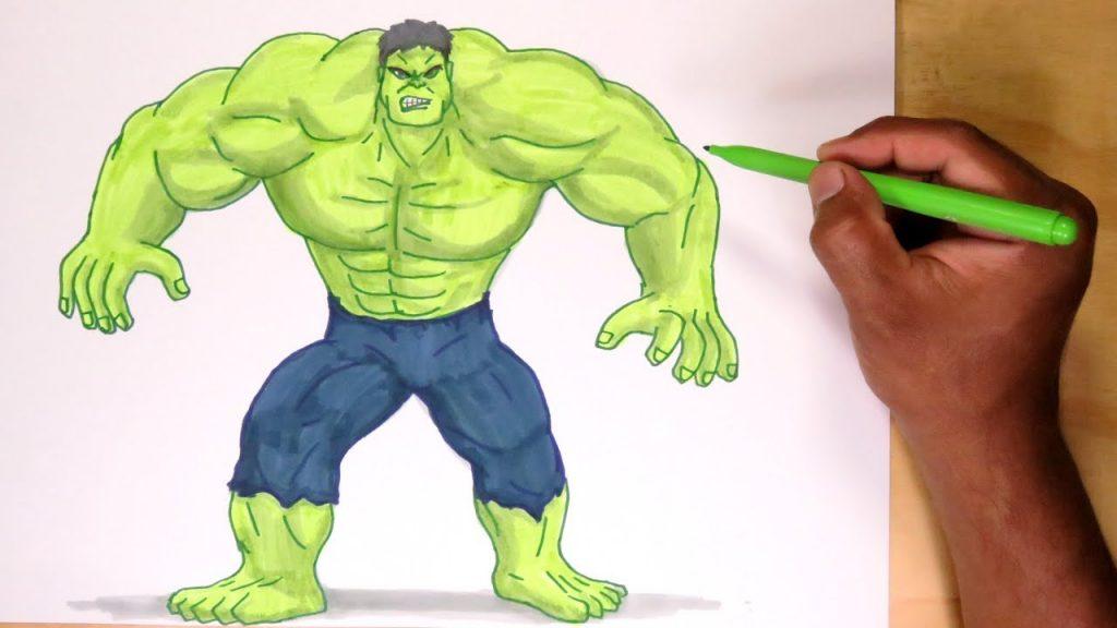 maxresdefault 3 1024x576 - Dibujos de Hulk para colorear