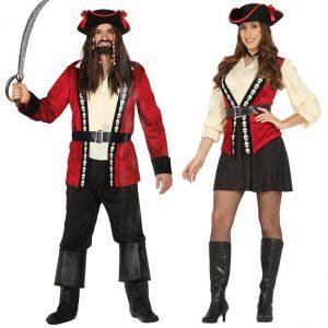 disfraces frikis disfraz de pirata hombre y mujer