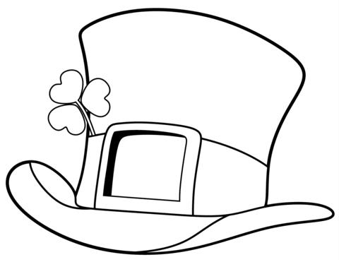 sombreros para colorear dibujos de sombreros para pintar