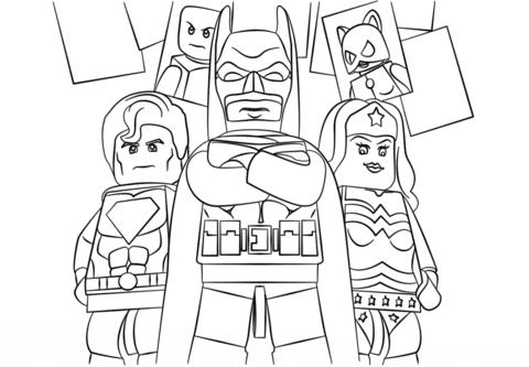 colorear dibujos de superheroes
