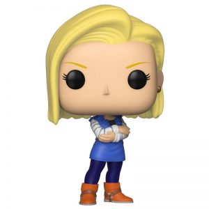 androide c18 android c 18 funko pop figura, c18 androide