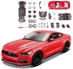 mustang a escala, maqueta ford mustang para montar modelismo