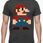 camisetas de videojuegos camiseta gaming de mario bros