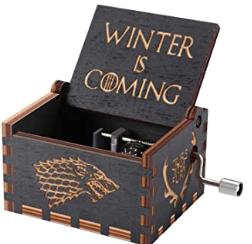 cajas musicales en venta, caja musical game of thrones