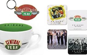 merchandising de la serie friends, ropa, accesorios, camisetas, regalos de friends españa