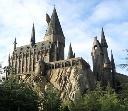 estructura del castillo de hogwarts de harry potter, ¿dónde está hogwarts?